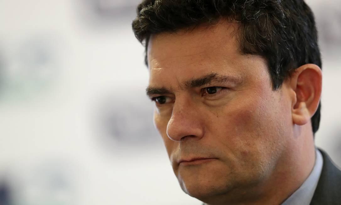 Ministro da Justiça, Sergio Moro Foto: AMANDA PEROBELLI / REUTERS