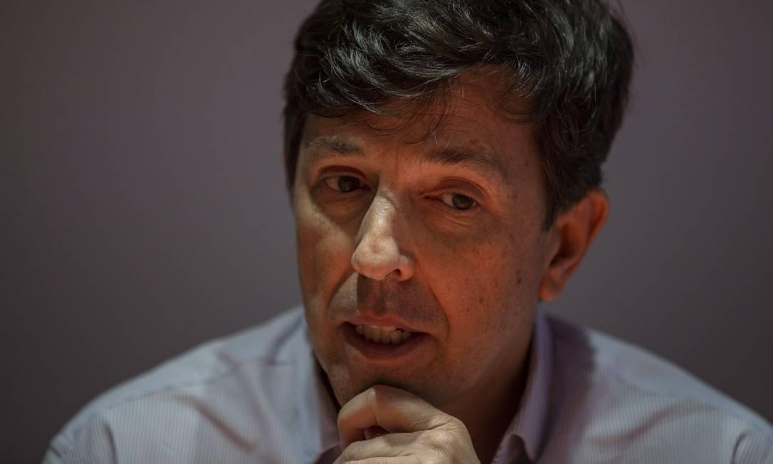 Candidato a presidente pelo Novo em 2018, João Amoêdo planeja se candidatar novamente em 2022, mas enfrenta resistências no partido Foto: Alexandre Cassiano / Agência O Globo