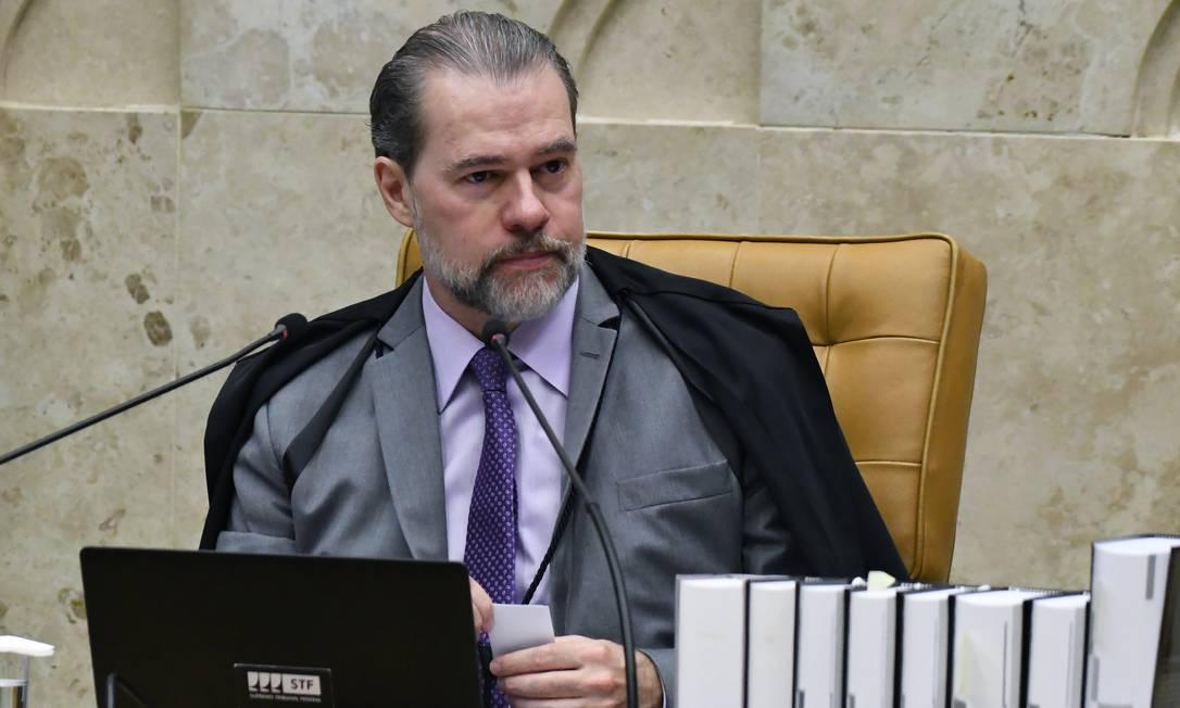 Presidente do Supremo, Dias Toffoli. Foto: CARLOS ALVES MOURA / Divulgação/STF