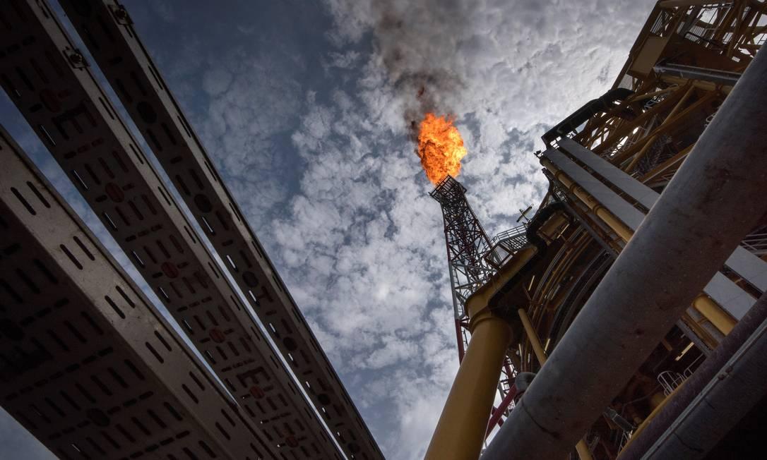 Concentração de gases de efeito estufa na atmosfera atingiu recorde em 2018 e supera média histórica dos últimos dez anos Foto: RODGER BOSCH / AFP