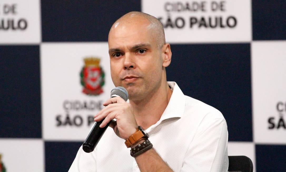 O prefeito de São Paulo, Bruno Covas Foto: Bruno Escolastico/Photopress