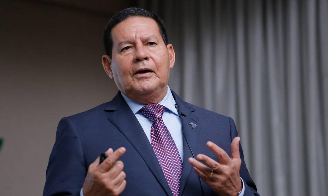 Vice-Presidente da República, Hamilton Mourão Foto: Bruno Batista / VPR