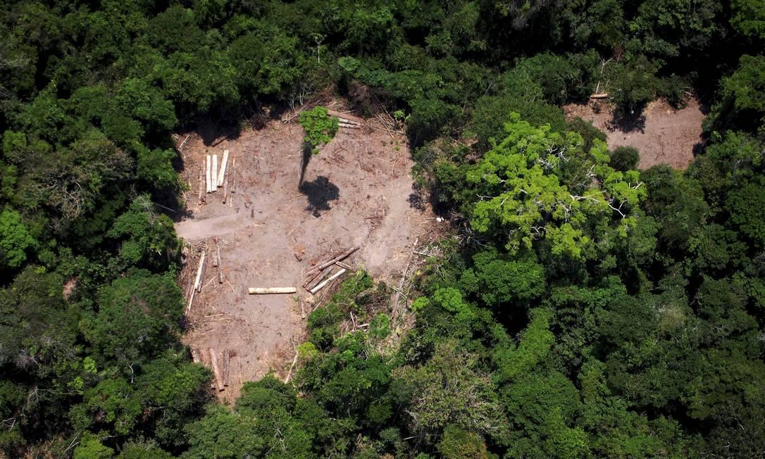 Governo também informou ter apreendido 206 quilos de pasta base de cocaína e uma quantidade não divulgação de armas e munição Foto: RAPHAEL ALVES / Agência O Globo