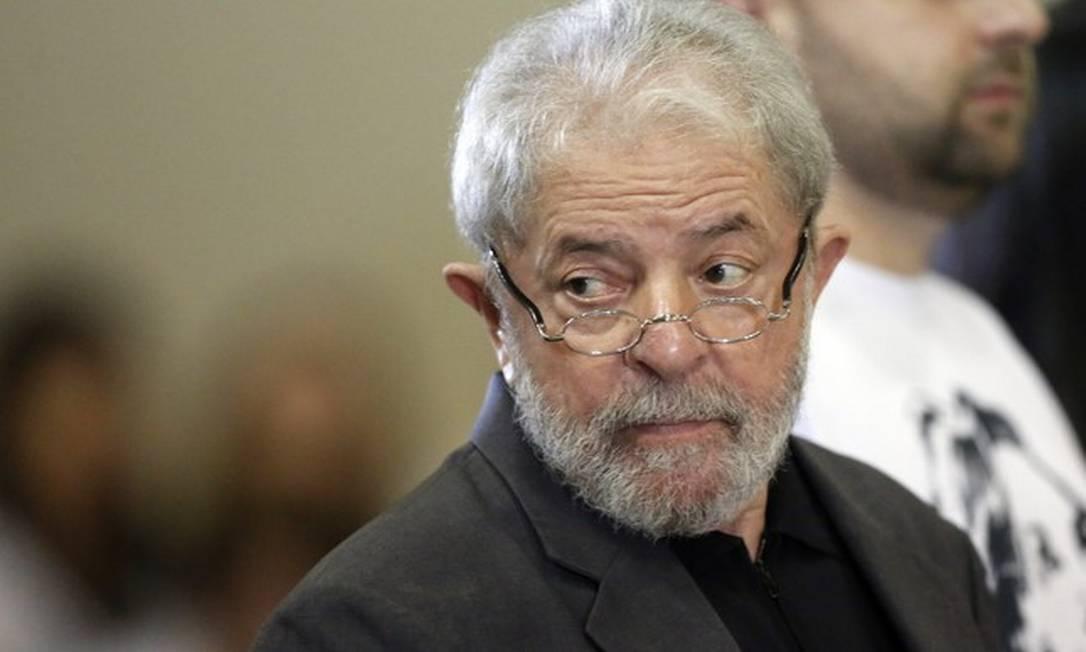 O ex-presidente Lula Foto: Edilson Dantas
