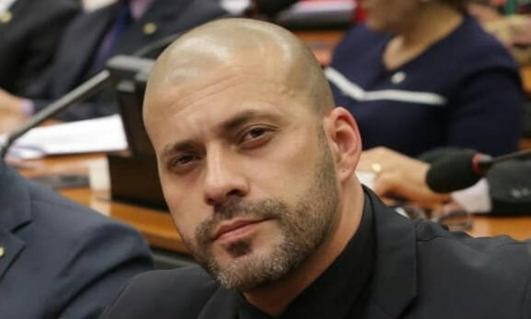 Deputado Federal Daniel Silveira Foto: Agência O Globo