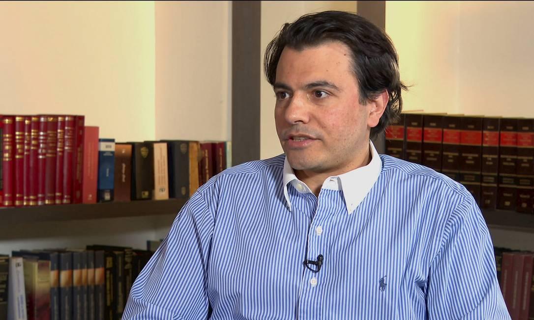 Empresário Otavio Oscar Fakhoury Foto: Reprodução CNN