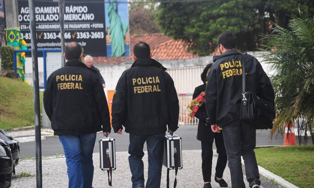 Operação Lava-Jato Foto: Ernani Ogata/Codigo19 / Agência O Globo / Agência O Globo
