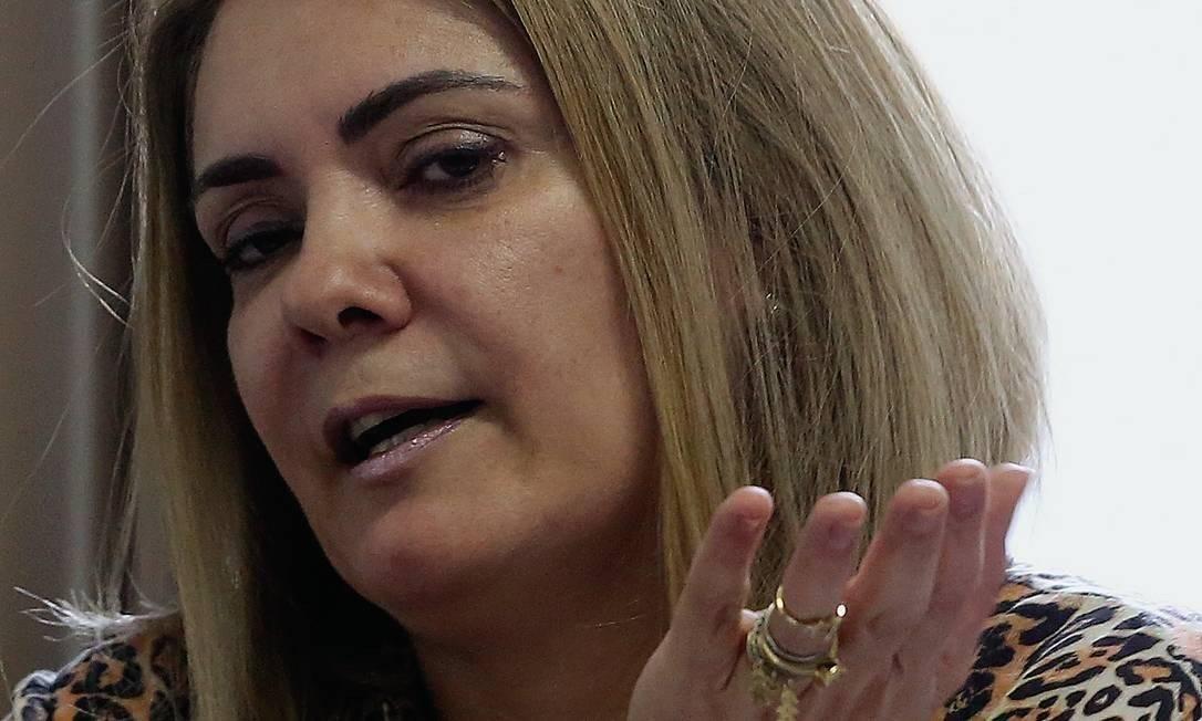 Ana Cristina Valle, segunda ex-mulher de Jair Bolsonaro, foi por sete anos chefe de gabinete de Carlos Foto: Custódio Coimbra / O GLOBO