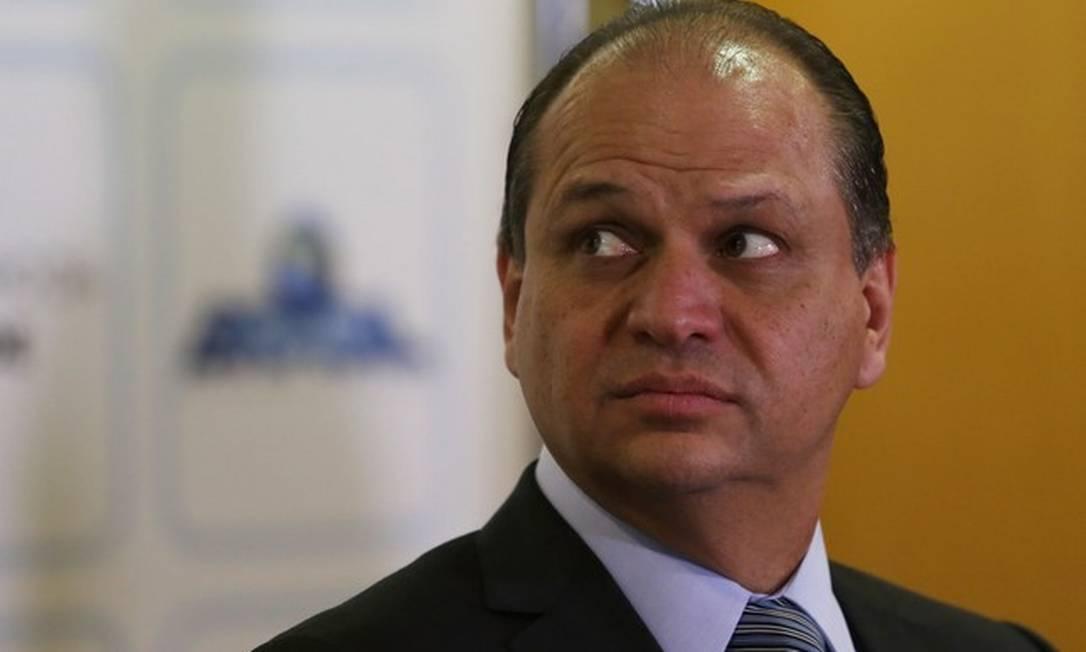 O líder do governo, Ricardo Barros Foto: Arquivo O Globo
