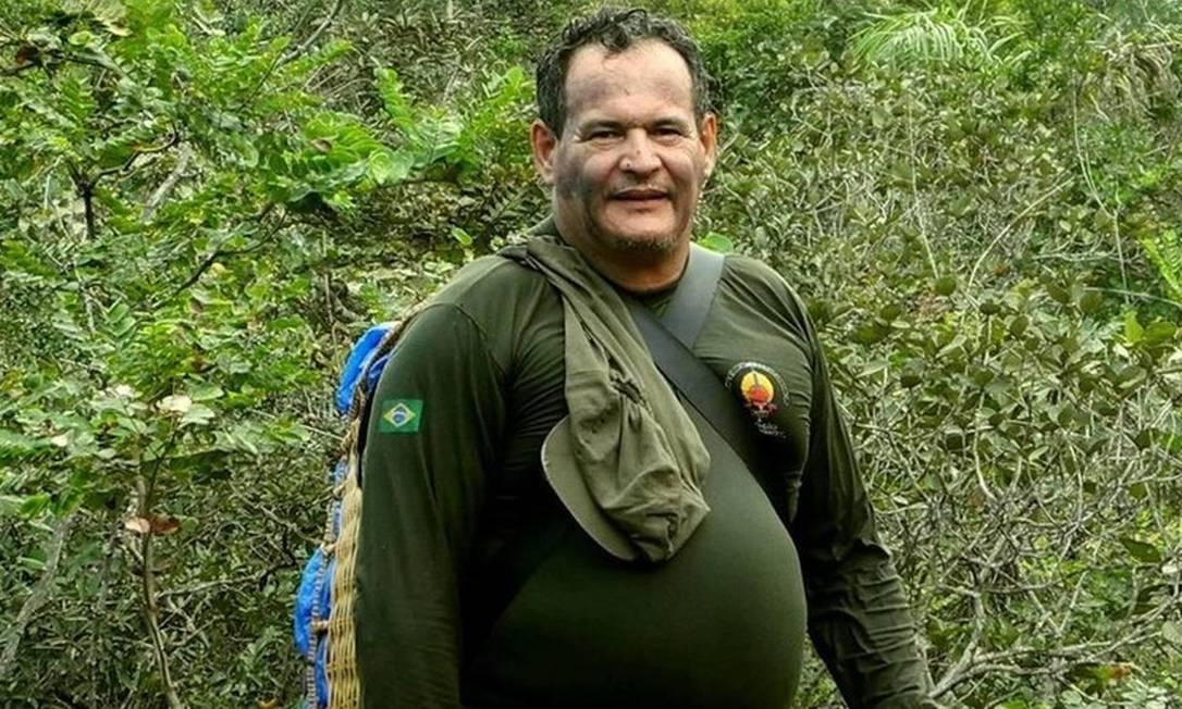 Coordenador da Frente de Proteção Etnoambiental Uru-Eu-Wau-Wau, Rieli Franciscato Foto: Arquivo Pessoal