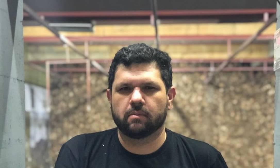 O blogueiro Oswaldo Eustáquio Foto: Reprodução/Instagram