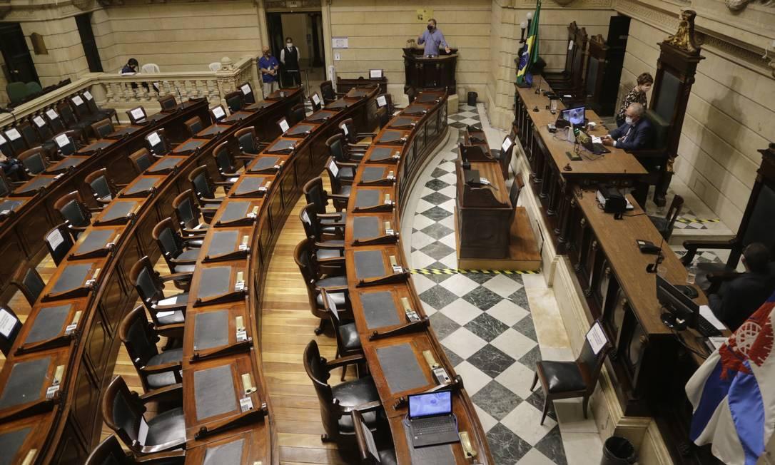 Câmara Municipal do Rio Foto: Antonio Scorza / Antonio Scorza