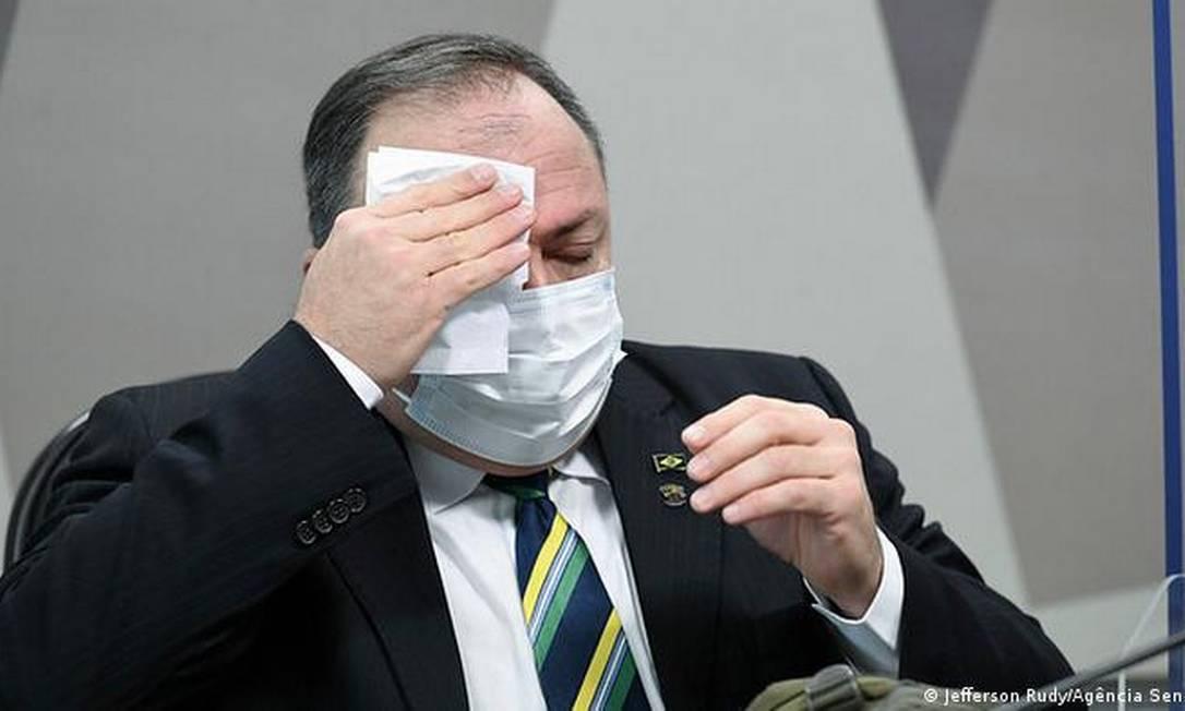 O ex-ministro da Saúde Eduardo Pazuello Foto: Divulgação