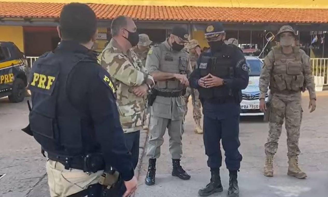 Secretário de Estado da Segurança Pública de Goiás, Rodney Miranda, é quem coordena a força-tarefa Foto: Secretaria de Segurança Pública de Goiás / Reprodução