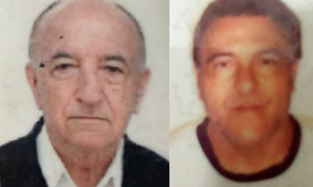 Manoel Freitas (esq) e Manoel Freitas Filho foram internados em unidade da Prevent Senior no início da pandemia da Covid: família revive pesadelo com revelações sobre uso de cloroquina Foto: Acervo pessoal