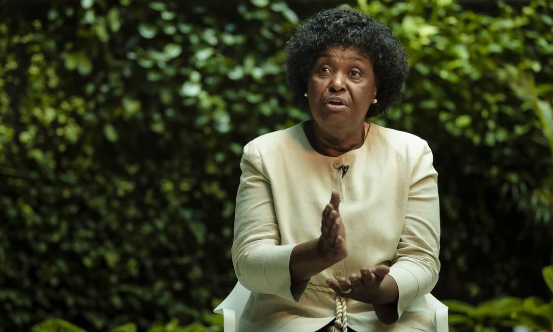 Benedita da Silva: candidata do PT à prefeitura do Rio Foto: Leo Martins / Agência O Globo