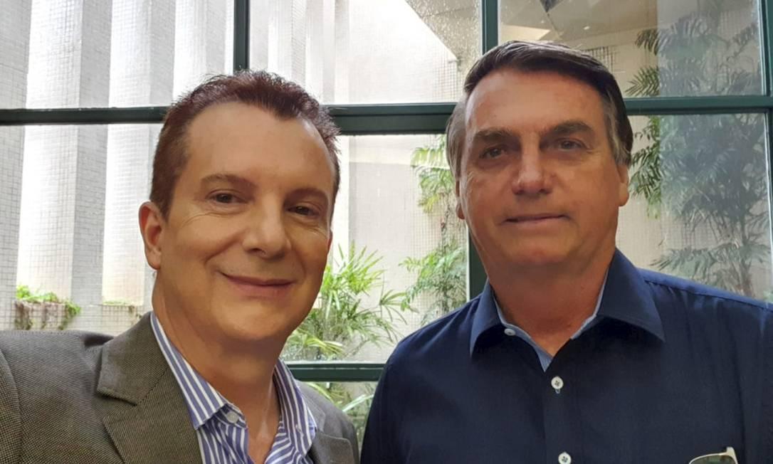 Bolsonaro com Russomanno em São Paulo. Foto: Instagram Foto: Agência O Globo