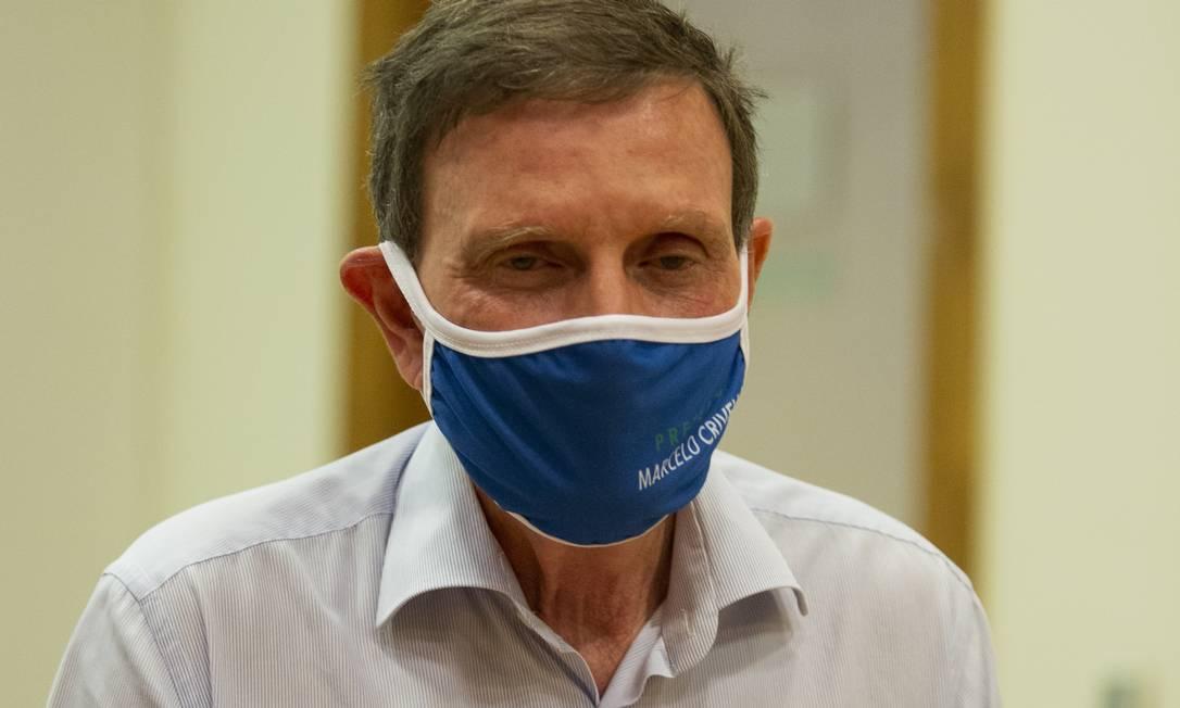 Prefeito enfrentou acusações na campanha e se aliou a Bolsonaro Foto: Gabriel Monteiro/Agência O Globo