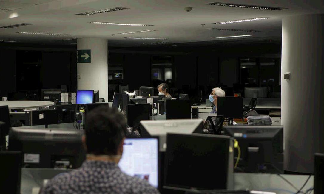 """O GLOBO, Extra, G1, TV Globo, GloboNews, """"O Estado de S.Paulo"""", """"Folha de S.Paulo"""" e """"UOL"""" formaram uma parceria para levar aos brasileiros informações sobre o coronavírus Foto: Agência O GLOBO"""