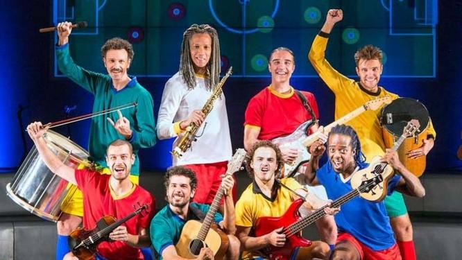 Elenco de 'Samba Futebol Clube' Foto: Divulgação / O Globo