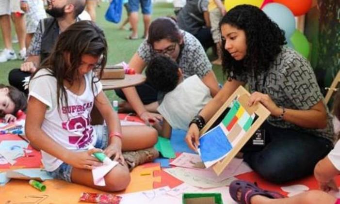 Atividades lúdicas acontecem no MAR no Dia das Crianças Foto: Divulgação