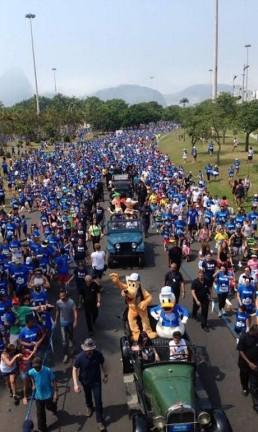 Disney Magic Run do ano passado Foto: Divulgação