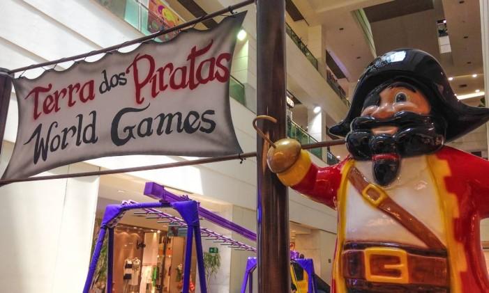 Terra dos Piratas no Shopping Tijuca Foto: Divulgação