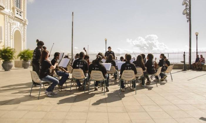 Orquestra Maré do Amanhã Foto: Divulgação