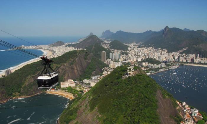 Bondinho Foto: Agência O Globo