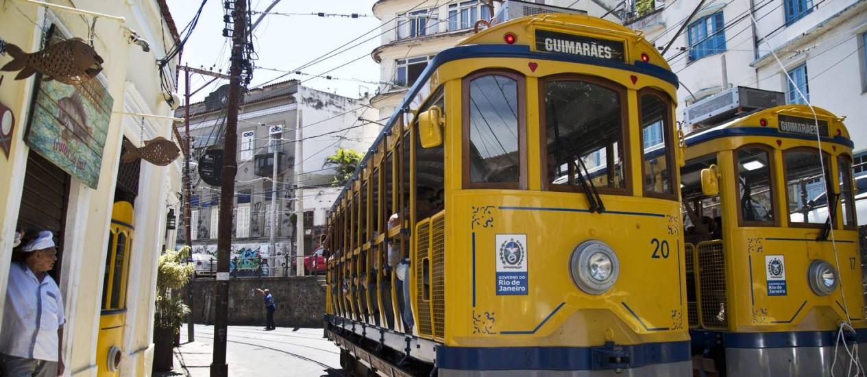 Moradores do bairro terão gratuidade, demais usuários pagarão a tarifa turística de R$ 20 Foto: Ana Branco - 28/12/2015 / Agência O Globo