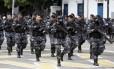 Solenidade de troca de comando da Polícia Militar