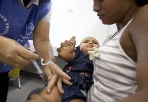Ministério anuncia mudanças no calendário de vacinação Foto: Márcia Foletto / Agência O Globo