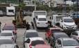 Veículos apreendidos transformam pátio do 41º BPM (Irajá) em uma espécie de concessionária