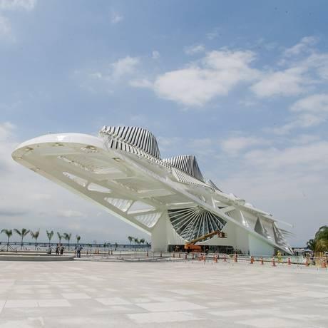 O Museu do Amanhã Foto: Marcos Sobral