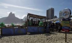 Projeto Verão Rio Foto: Luiz Ackermann / Agência O Globo