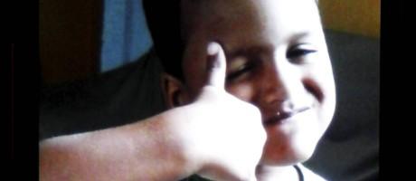 Menino de quatro anos está em coma Foto: Pedro Teixeira / Agência O Globo