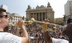 Desfile do Cordão da Bola Preta no Centro. Carnaval 2015 Foto: Pablo Jacob / Agência O Globo