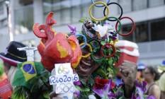 O Rio 2016 caiu no samba Foto: Leo Martins / Agência O Globo