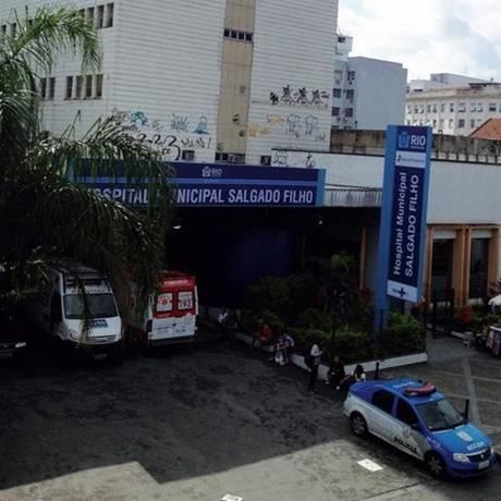 Entrada do Hospital Salgado Filho, no Méier Foto: Divulgação