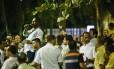 Motoristas participaram de assebleia no Centro do Rio