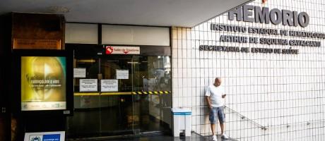 HemoRio paralisa atendimento de coleta de sangue Foto: Barbara Lopes / Agência O Globo