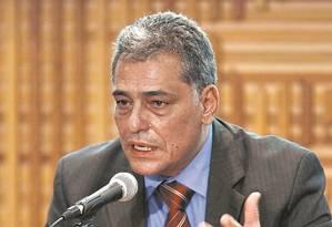 O secretário estadual de Fazenda, Julio Bueno Foto: Thiago Freitas - 13/04/2016