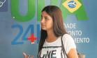 """Thayanne aguarda consulta na UPA de Copacabana: """"Tenho medo de ficar jogada, como nas filas que aparecem na TV"""" Foto: Antonio Scorza"""