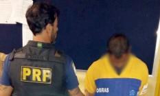 Suspeito de assalto é preso na Rio-Teresópolis Foto: Divulgação