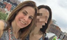 Luciana Dornelles, filha do governador em exercício do Rio, foi assaltada nesta madrugada no Leblon Foto: Reprodução / Facebook