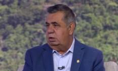 Presidente da Alerj, Jorge Picciani, critica falta de autonomia do governo do Rio Foto: Reprodução / TV Globo