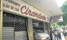 Cirandinha fechada: fim das fornadas após mais de 50 anos Foto: Natália Boere
