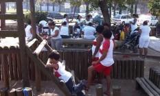 No Country, em Ipanema, babás só podem utilizar o banheiro das crianças Foto: Miguel Paiva