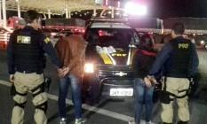 Casal havia adquirido as drogas em Bonsucesso, no Rio Foto: Divulgação/PRF