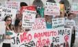 Alunas da Rural fazem protesto contra falta de segurança e estupros há dois anos